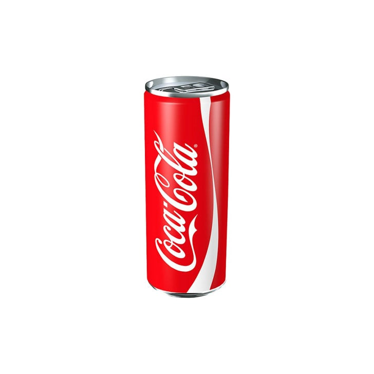 First, let's take a look at the stats for a 250ml can of Coke . . .
