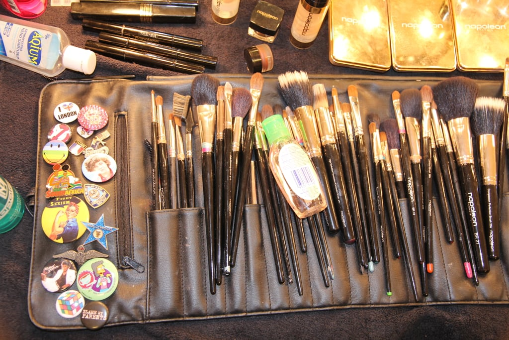 Can you ever have too many brushes? Um, no.