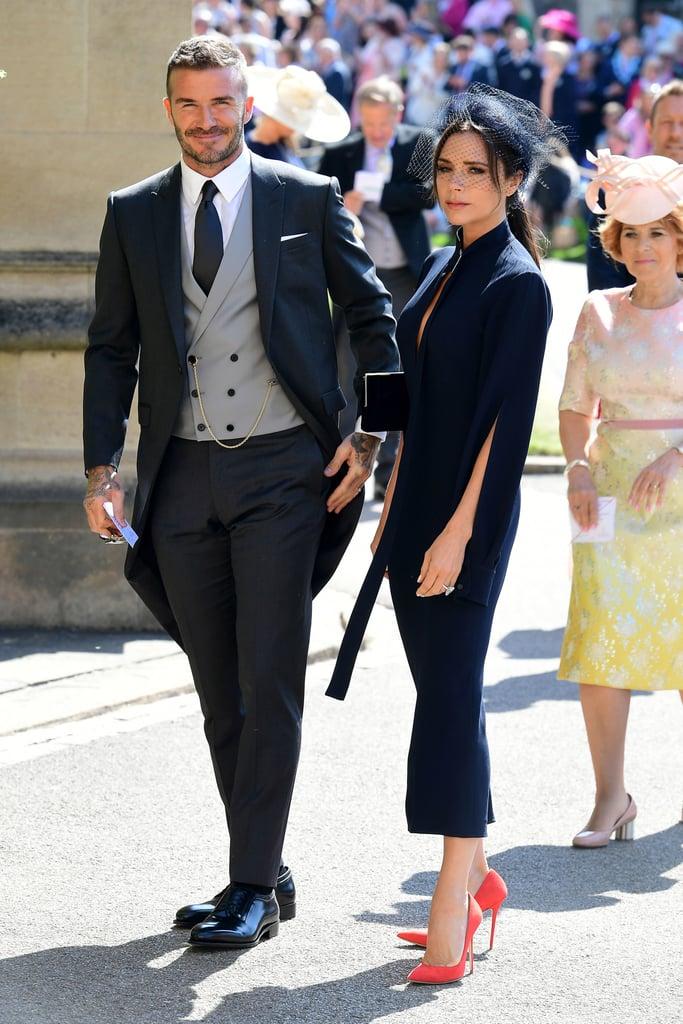 Victoria Beckham Dress at Royal Wedding 2018