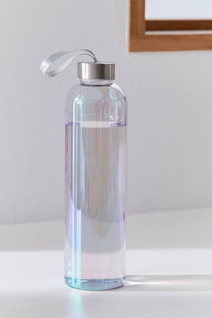 Printed Glass Water Bottle