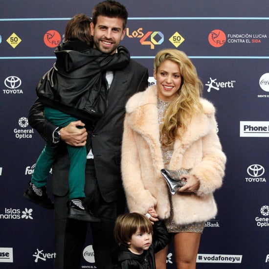 Shakira and Her Kids at Los 40 Music Awards 2016