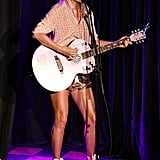 June: Taylor Performed at the Stonewall Inn's Pride Celebration