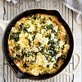 Sweet Potato, Kale, and Goat Cheese Frittata
