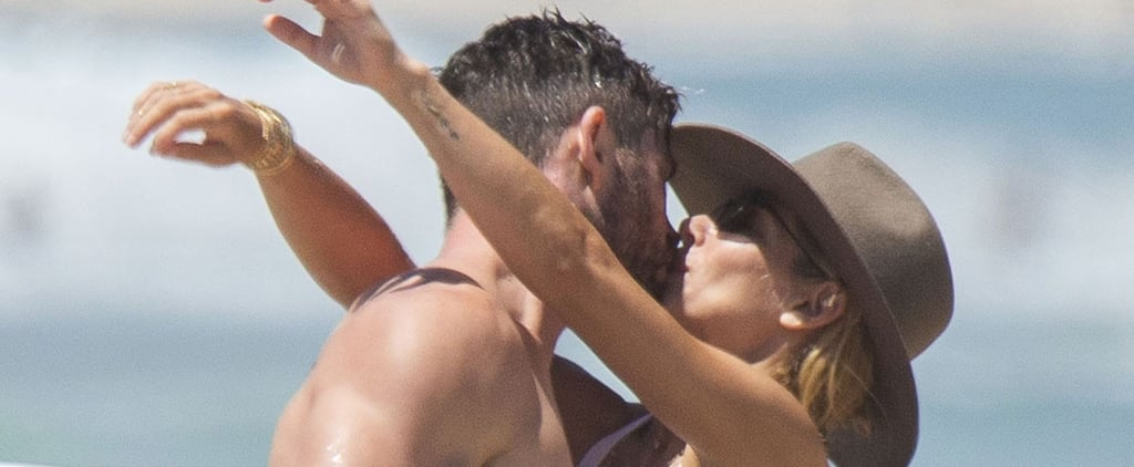 Chris Hemsworth and Elsa Pataky PDA Pictures Australia 2018