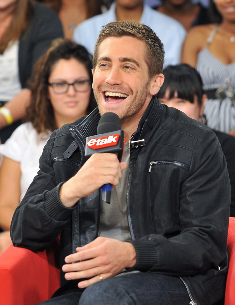 Pictures of Jake Gyllenhaal at eTalk For Prince of Persia