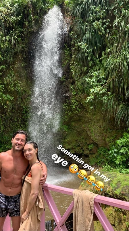 Val Chmerkovskiy and Jenna Johnson Slip Into Swimsuits For Their Honeymoon, and Holy Abs!