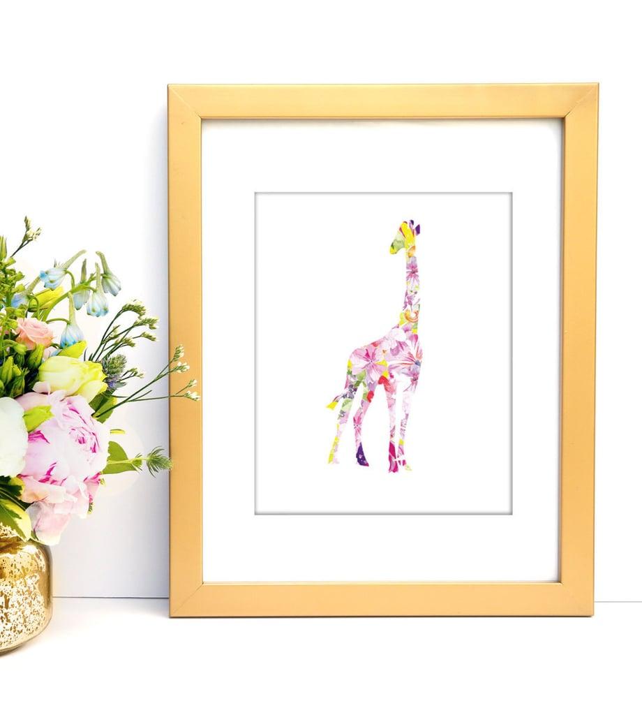Giraffe Art Print ($5)