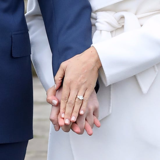 Meghan Markle Engagement Photo Nails