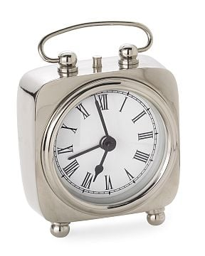 Williams-Sonoma Home Square Handle Clock