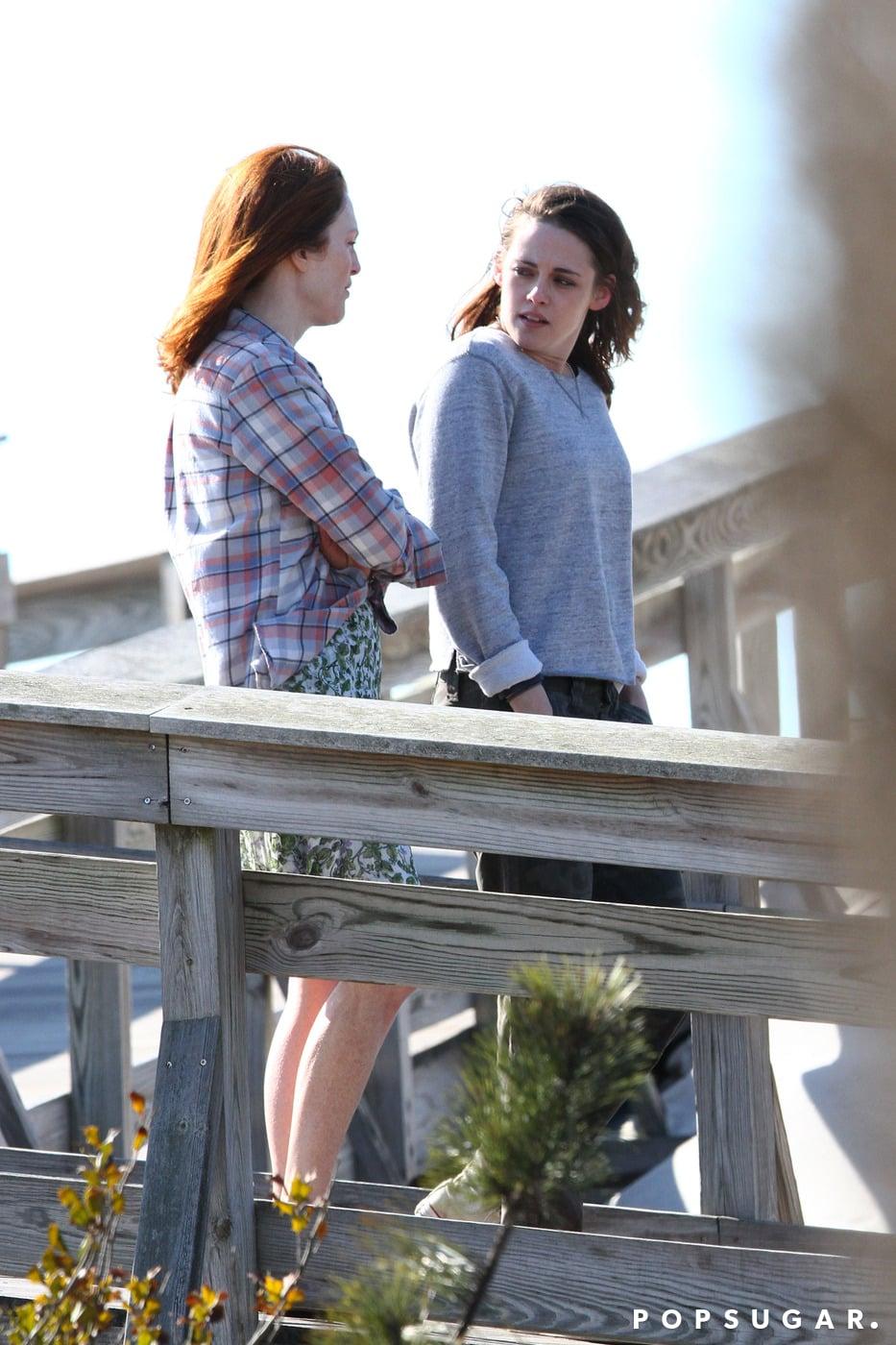 Julianne Moore Has a Way of Making Kristen Stewart Smile