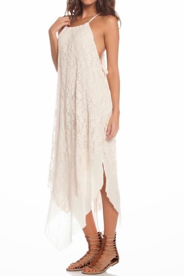 Elan USA Cream Lace Dress