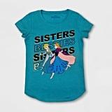 Girls' Frozen Sisters Besties Short Sleeve T-Shirt