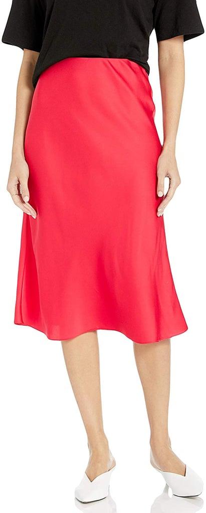 The Drop Maya Silky Slip Skirt