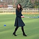 Kate wearing Alexander McQueen in November 2012.