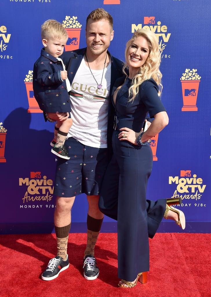 Gunner Pratt, Spencer Pratt, and Heidi Montag at the 2019 MTV Movie and TV Awards