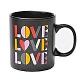 Love Love Love Stoneware Mug