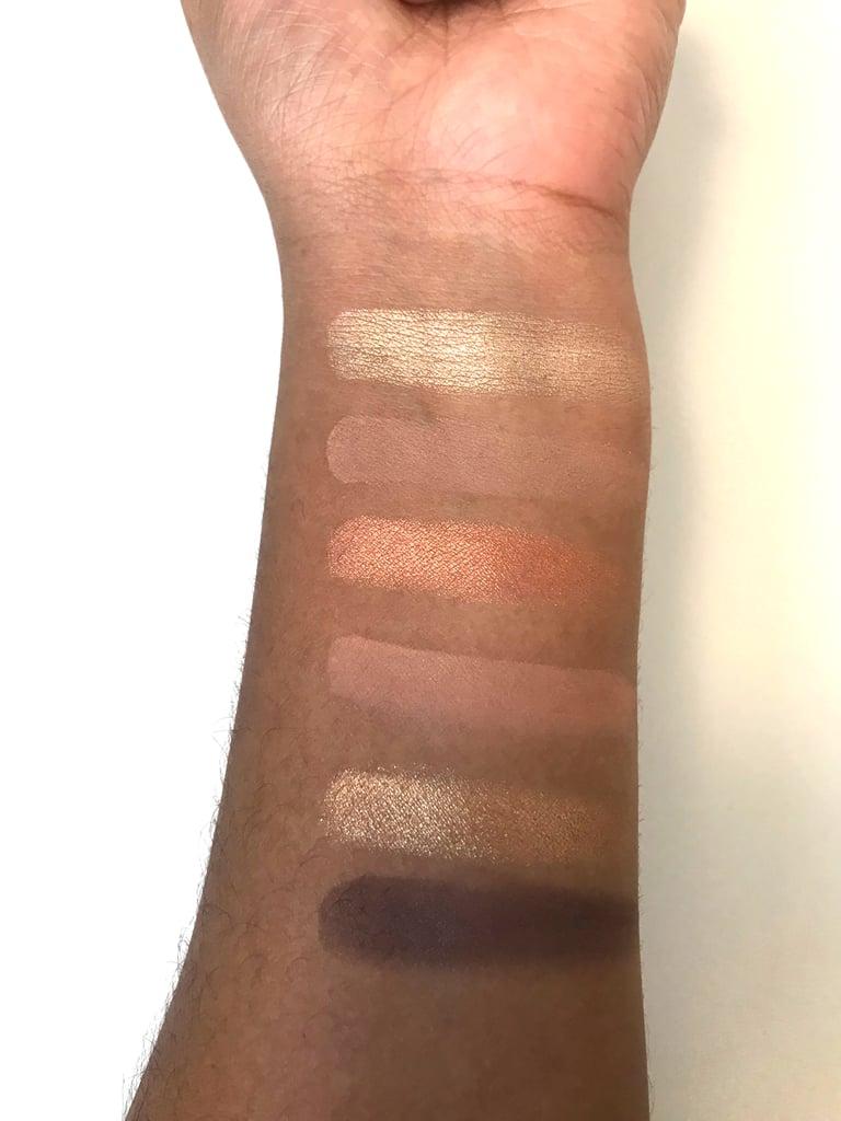 Gigi Hadid x Maybelline New York Eye Shadow Palette in Warm Swatches