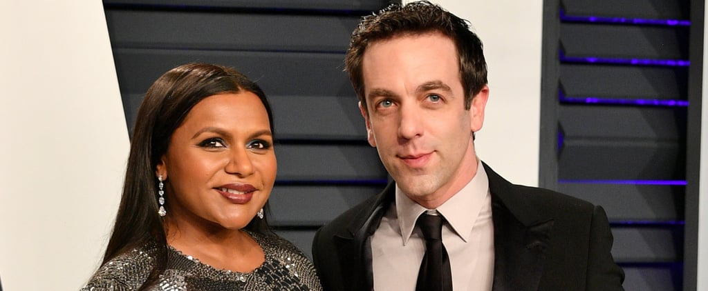 Mindy Kaling and BJ Novak at the Oscars Afterparty 2019