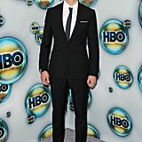 Alexander Skarsgard was in a tux for the HBO Globes party.