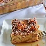 Pumpkin Croissant Breakfast Bake