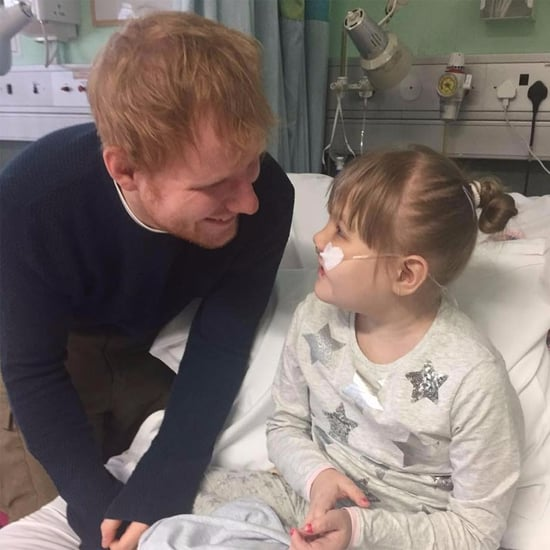 Ed Sheeran Singing to Sick Fan Melody Driscoll November 2016
