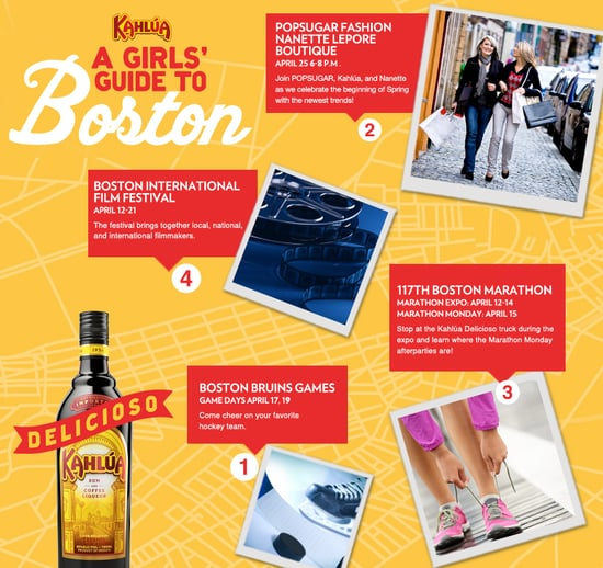 Kahlúa - A Girls' Guide to Boston