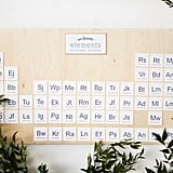 Periodic Table Decor