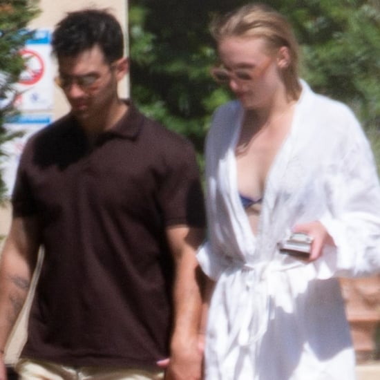 Joe Jonas and Sophie Turner at Wedding Venue Pictures