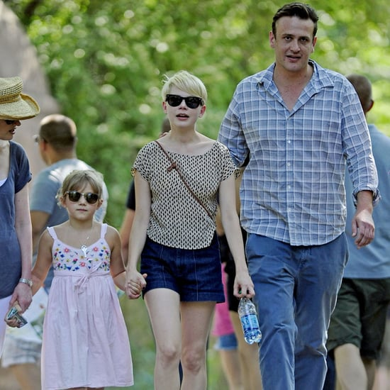 Michelle Williams and Jason Segel Pictures With Matilda at Zoo