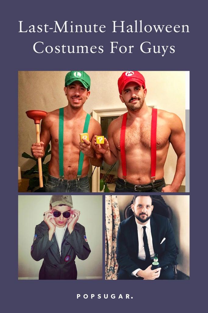 Last-Minute Halloween Costumes For Guys | POPSUGAR Smart ...