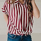 Ivay Striped Top