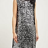 Miu Miu Sequined Crepe Minidress