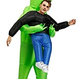 Inflatable Alien Carrying Human Costume
