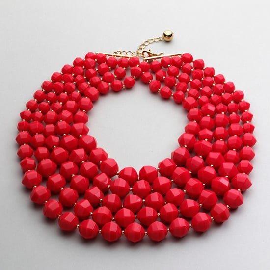 Kate Spade Graduated Color Necklace, $148