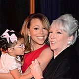 Mariah Carey spent quality time with her mother, Patricia, and her daughter, Monroe. Source: Instagram user mariahcarey