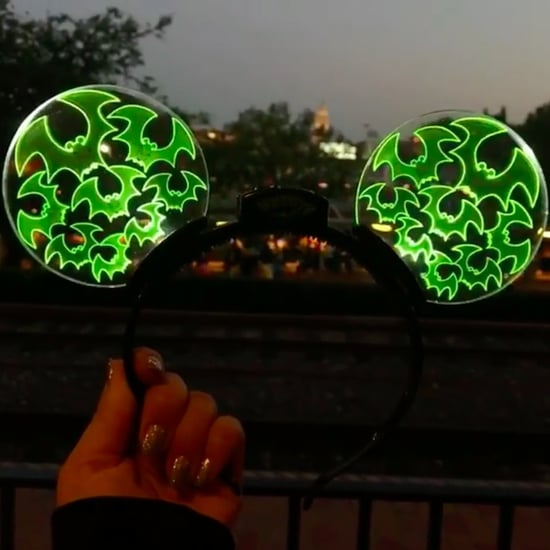 Light-Up Halloween Mickey Ears at Disneyland