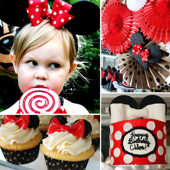 A Modern Minnie Mouse Birthday Party