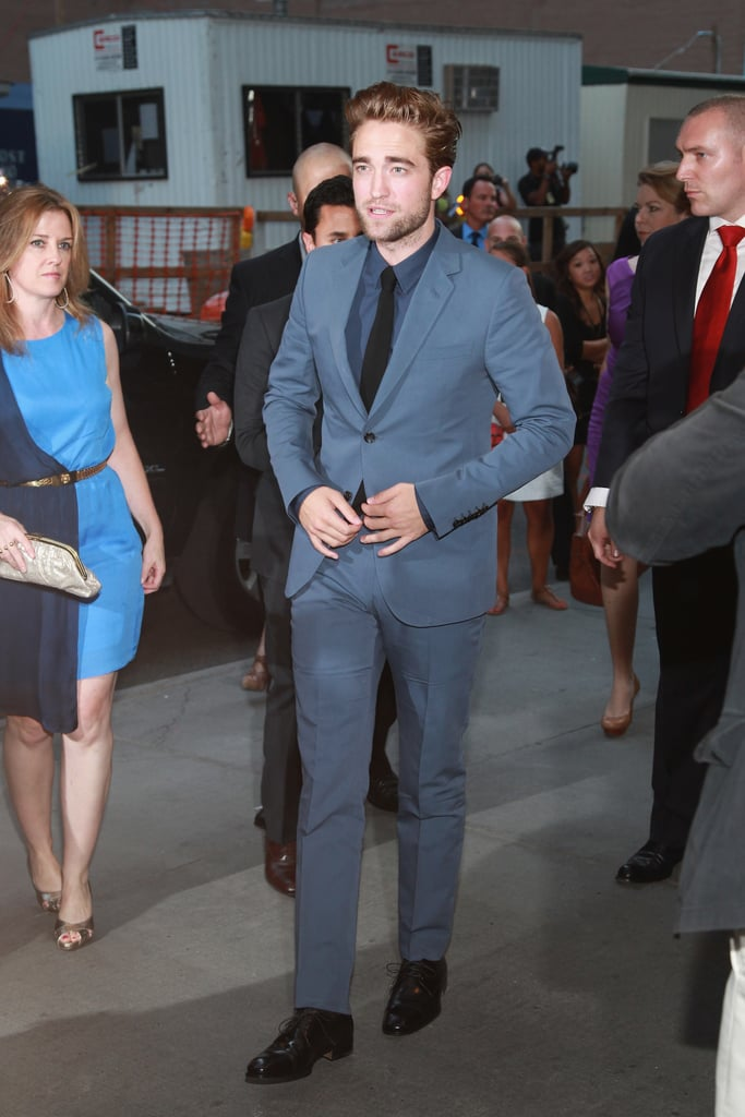 Robert Pattinson was a treat to see at his August premiere of Cosmopolis in NYC.