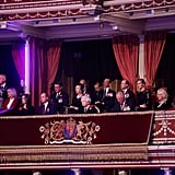 On Nov. 10, the Fab Four attended the Royal British Legion Festival of Remembrance at the Royal Albert Hall in London alongside the queen and other members of the royal family.