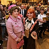 Dolores Umbridge and Ron Weasley