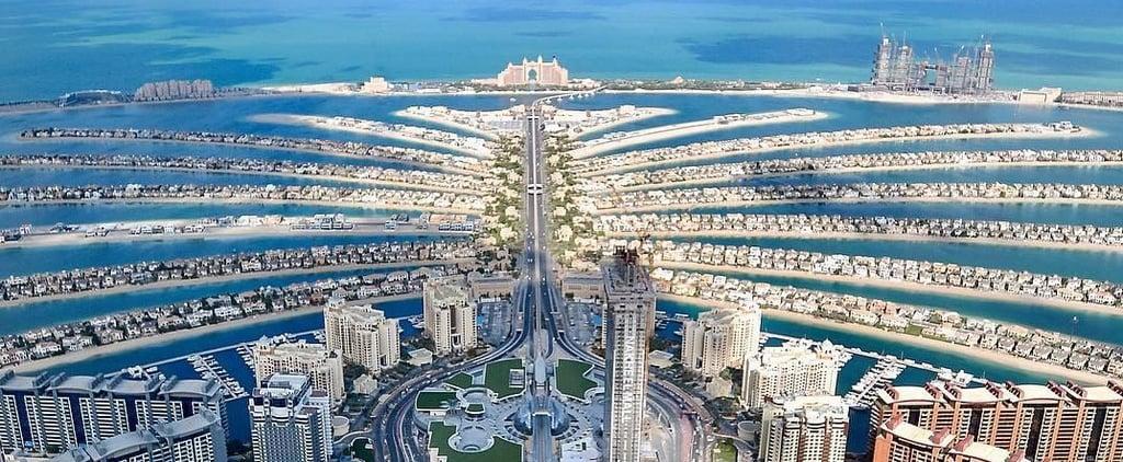 ذي فيو النخلة احدث منصة مشاهدة على ارتفاع 240م في دبي 2019