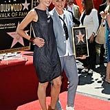 In September 2012, Portia showed support for Ellen when she received a star on the Hollywood Walk of Fame.