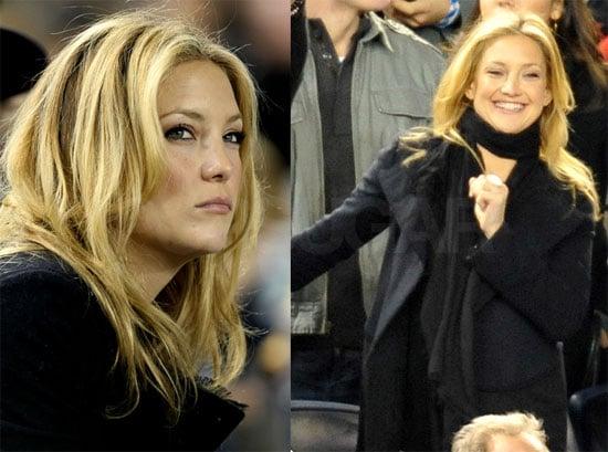 Photos of Kate Hudson at the Yankees Game 2009-10-26 09:39:10