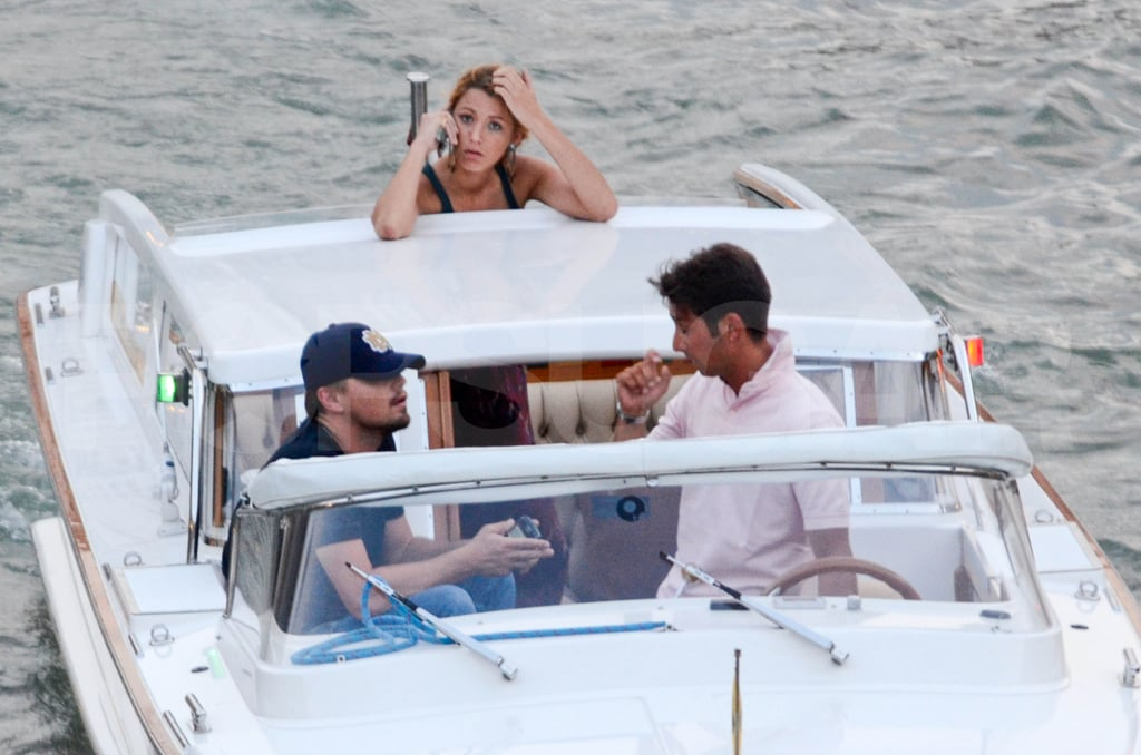 Blake Lively Surfaces With Leo For the First Time Since Her Photo Scandal Broke