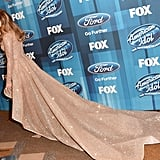 At the American Idol Finale