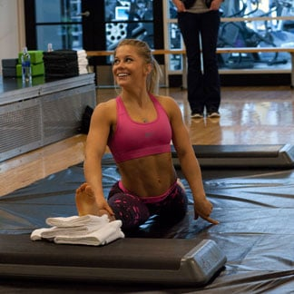 Shawn Johnson Training to Make US Olympic Gymnastic Team
