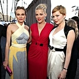 Busy Philipps, Michelle Williams and Diane Kruger at the Critics' Choice Awards.