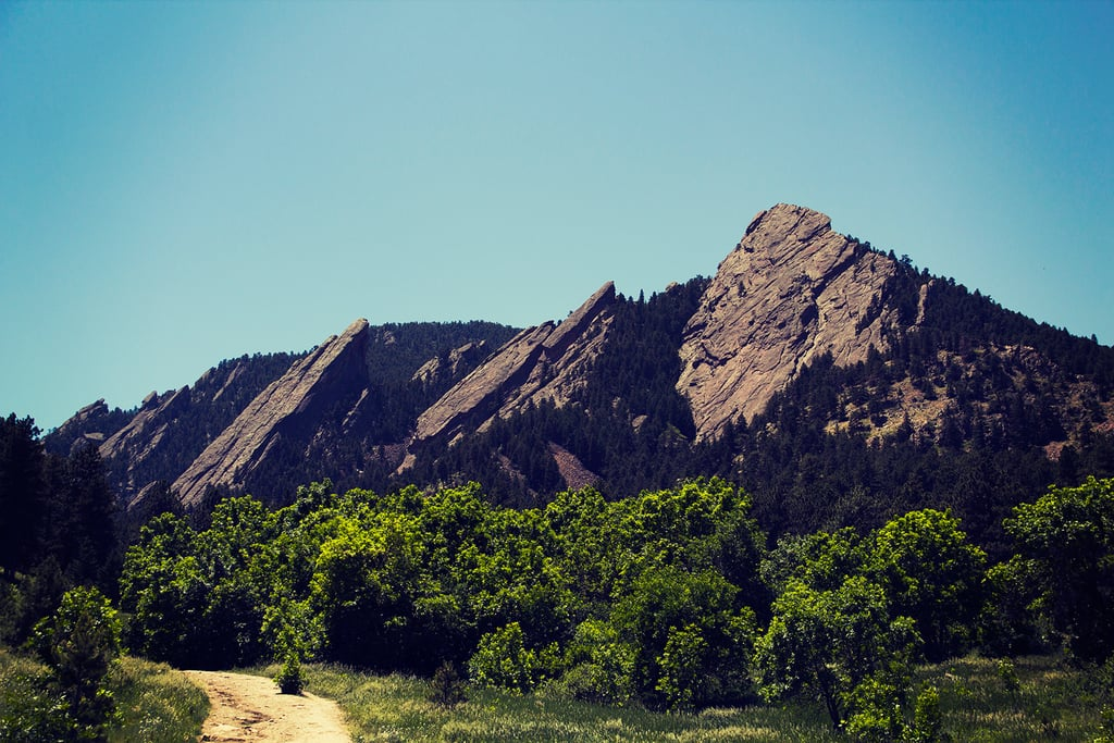 Climb the Flatirons in Boulder, CO.