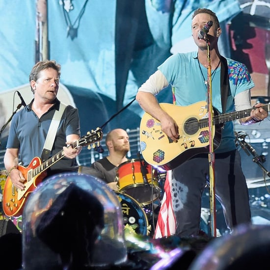 Coldplay Performs With Michael J. Fox at Concert Video