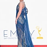 Hayden Panettiere hit the red carpet at the Emmy Awards.